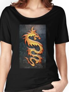 Golden Dragon Women's Relaxed Fit T-Shirt