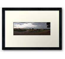 Masai Mara panorama Framed Print