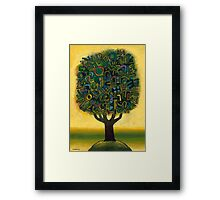 Surrealistic Landscape Framed Print