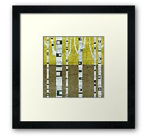 Fall Birches Framed Print