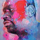 Self-Portrait: Artist In Contemplation Mode by edy4sure