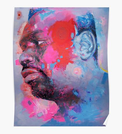 Self-Portrait: Artist In Contemplation Mode Poster