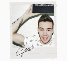 liam polaroid with signature. by jilleeean