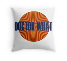 Doctor What Throw Pillow