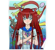 Anime girl - Himitsu Shion *-* Poster