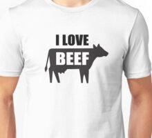 I Love Beef Unisex T-Shirt