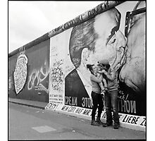 the kiss • berlin, germany •2013 Photographic Print