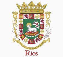 Rios Shield of Puerto Rico by William Martin