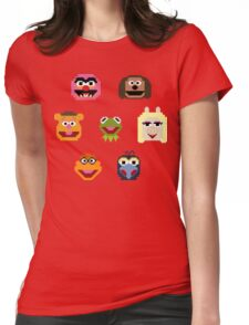 8-Bit Muppets Womens Fitted T-Shirt