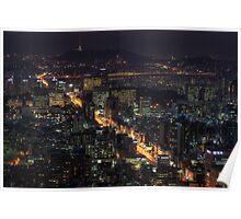 Seoul Flows Poster