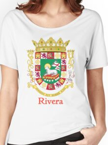 Rivera Shield of Puerto Rico Women's Relaxed Fit T-Shirt