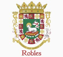 Robles Shield of Puerto Rico by William Martin