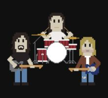 8-Bit Grunge Band by AlCreed