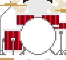 8-Bit Grunge Band Sticker