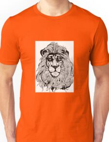 Lion's Portrait Unisex T-Shirt