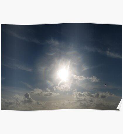 Sun Spray Poster