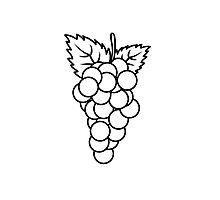 Grapes fruit fruit Photographic Print