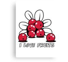 Cranberry Fruit organic fruit Canvas Print