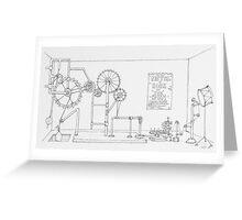 The Drum Machine. Greeting Card