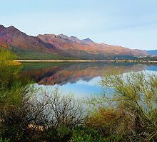 Horseshoe Lake by Gordon  Beck