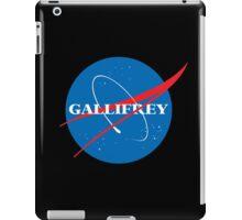 Gallifrey (Blue) iPad Case/Skin