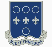 331st Infantry Regiment - See It Through by VeteranGraphics