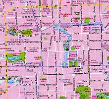 Beijing Street Map by Godfoot808