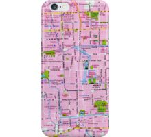 Beijing Street Map iPhone Case/Skin