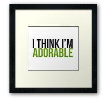 Adorable Framed Print