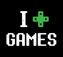 I heart Games by ihearteverythin