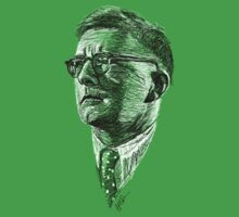 Shostakovich drawing in black and white Kids Clothes