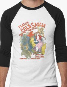 Plaisir au Gold Saucer Men's Baseball ¾ T-Shirt