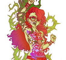Poison Ivy Activist by Penelope Barbalios