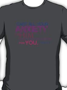 1st Peter - 5:7 T-Shirt
