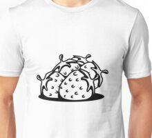 Strawberry fruit sweet bio Unisex T-Shirt