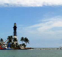 Light House @ Fort Pierce, Florida by BCallahan