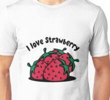 Strawberry fruit organic fruit Unisex T-Shirt