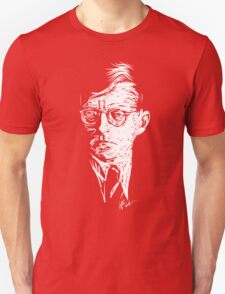 Shostakovich drawing in white Unisex T-Shirt
