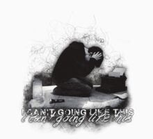 Alan Wake 'I can't going like this....' - white version by Emme Gray