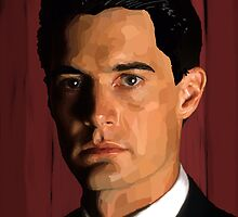 Agent Dale Cooper by aWinterMute