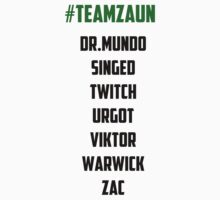 Team Zaun League of Legends by Dratui