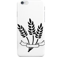 Wheat and Banner iPhone Case/Skin
