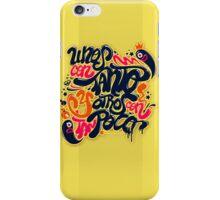 Unos con tanto... iPhone Case/Skin