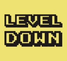 LEVEL DOWN! One Piece - Short Sleeve