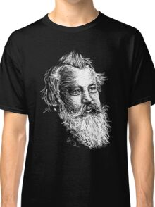 Brahms drawing in white Classic T-Shirt