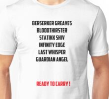 Ready to Carry League of Legends Unisex T-Shirt