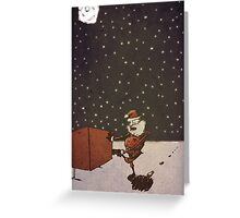 Reindeer Stains Greeting Card