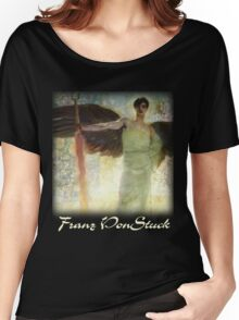 Franz Von Stuck – The Guardian of Paradise Women's Relaxed Fit T-Shirt
