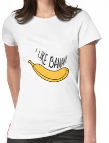 Banana fruit fruit tasty Womens Fitted T-Shirt