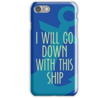 Sometimes Shipping is a Sinking Ship iPhone Case/Skin